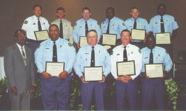 Division of Prisons Honorees