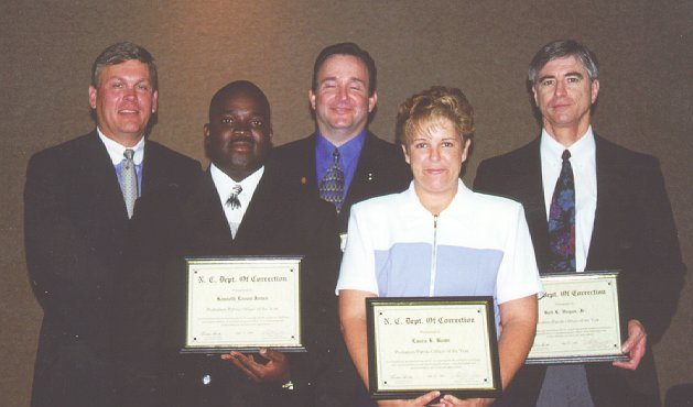 Division of Community Corrections Honorees